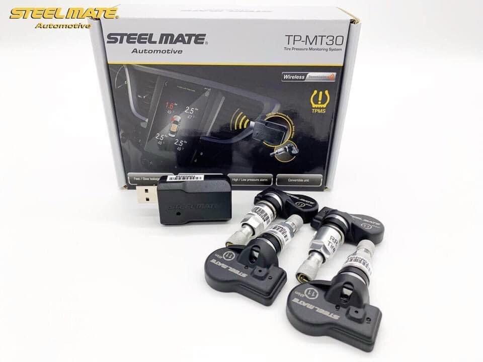 Cảm biến áp suất lốp Steelmate TP MT30 - Hiển thị màn hình Androi