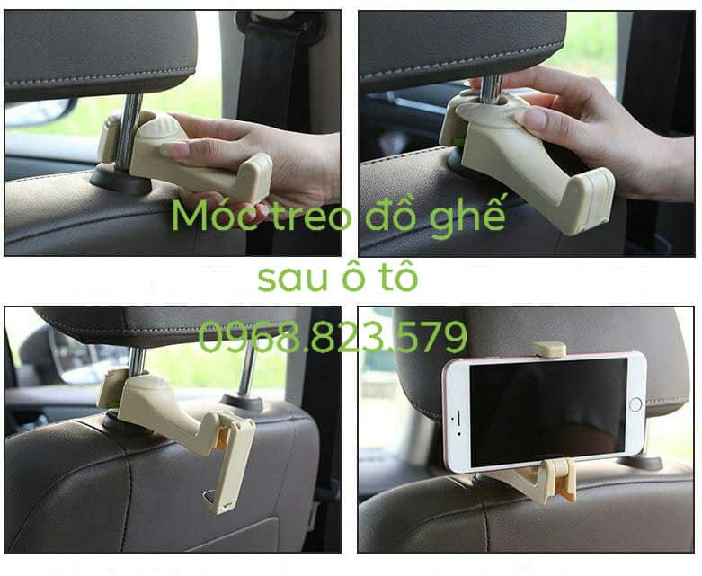 Móc treo đồ sau ghế xe