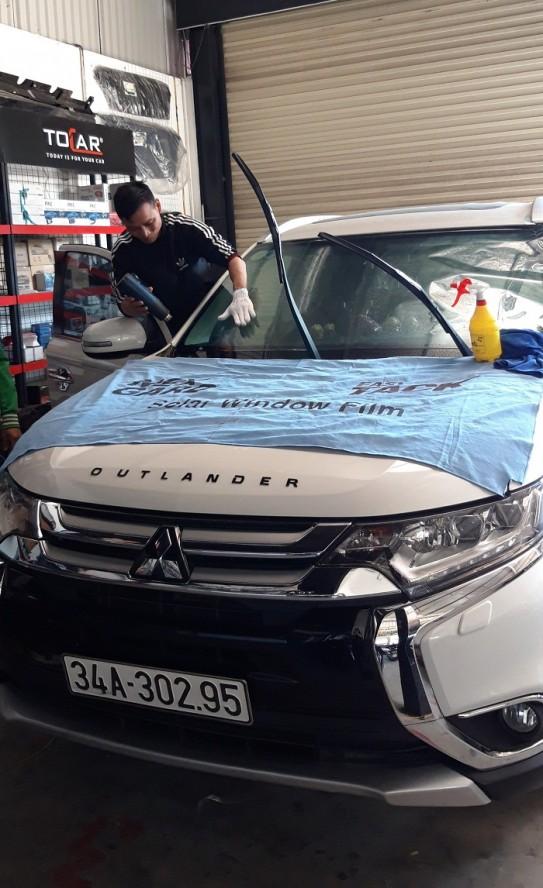Mitsubishi Outlander dán film cách nhiệt Nextgad