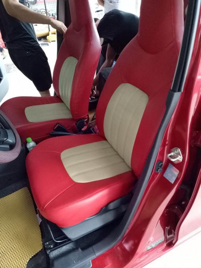 Bọc ghế da xe Suzuki Celerio